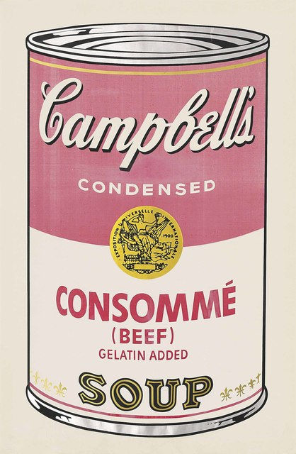 Andy Warhol, 'Beef Consommé, from: Campbell's Soup I', 1968, Christie's