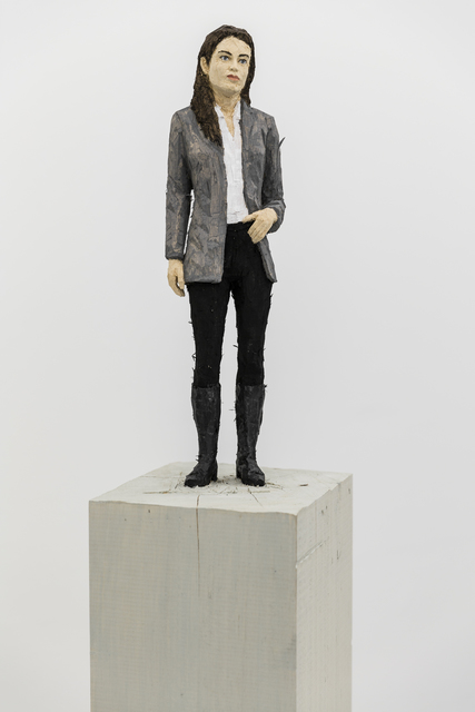 , 'Woman in grey blazer and boots,' 2016, Mai 36 Galerie