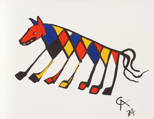 Alexander Calder, 'Flying Colors 3', 1974, RoGallery