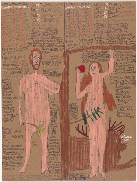 , 'Men and Women Naked,' 2015, Creativity Explored
