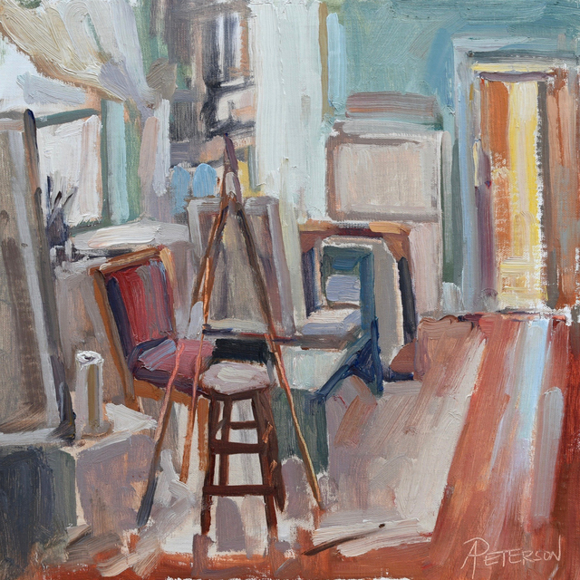 , 'Artist's Home Studio,' , Beverly McNeil Gallery