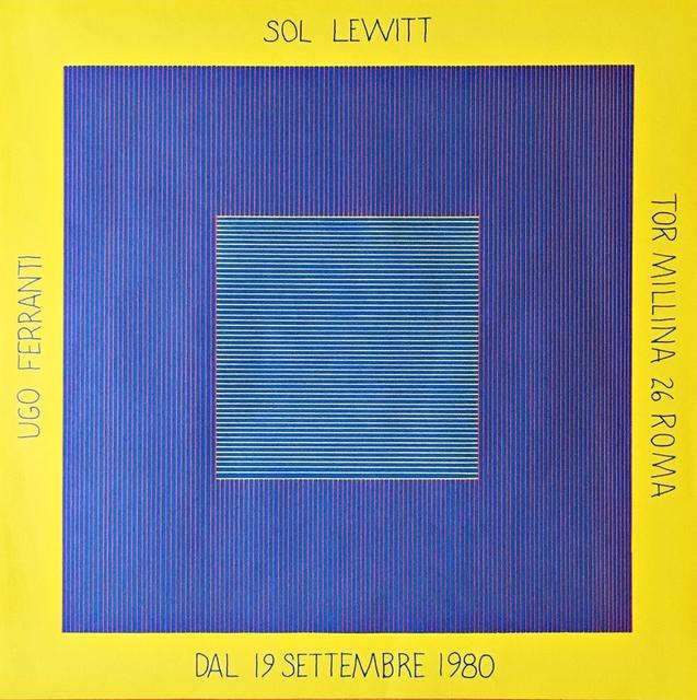 Sol LeWitt, 'Sol Lewitt Ugo Ferranti (Hand Signed)', 1980, Alpha 137 Gallery