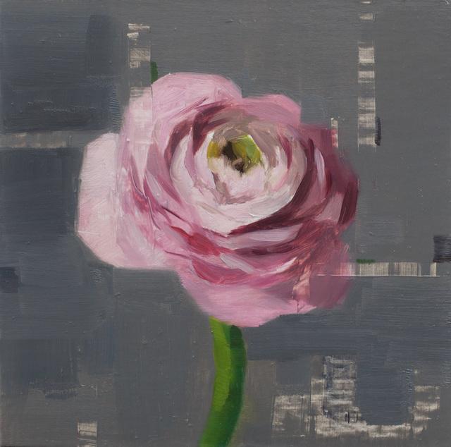 , 'Pink Ranunculus,' 2018, Abend Gallery