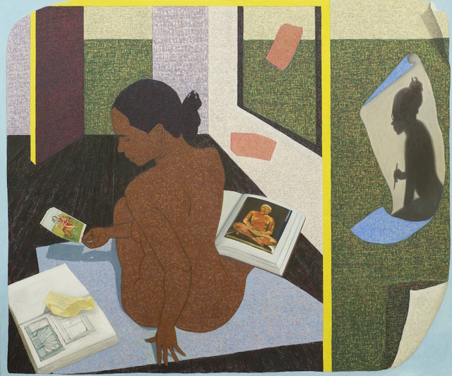 , 'Performing Painting: A Real Allegory of Her Studio,' 2015, Asia Society