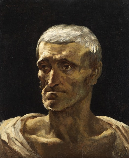 , 'Head of a shipwrecked man,' , DICKINSON