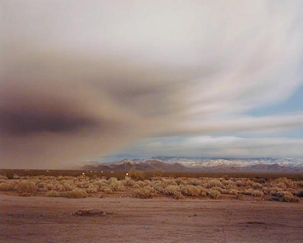 , 'Clearing Storm Near Kingman,' 1985, Robert Mann Gallery