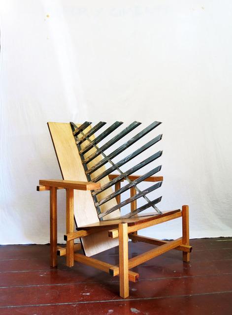 , 'Design of Disturbance - Ofendículo Bauhaus para cadeira do Gerrit Rietveld,' 2015, Portas Vilaseca Galeria