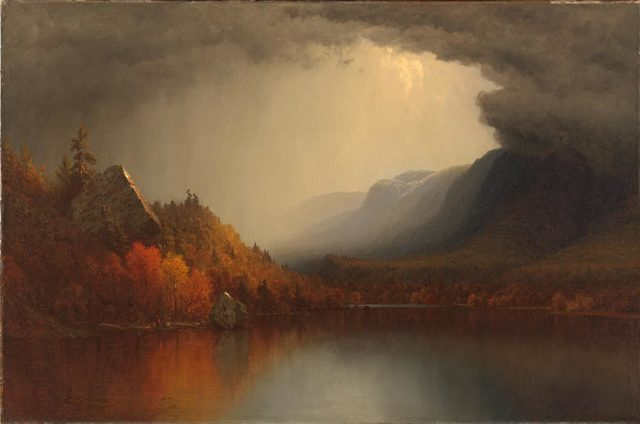 , 'A Coming Storm,' ca. 1863, Philadelphia Museum of Art
