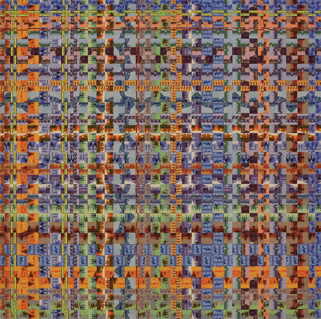 , 'Horse Plaid,' 2014, Brian Gross Fine Art