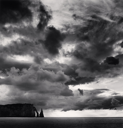 Michael Kenna, 'Falaise d'Aval et Nuages, Etretat, Haute-Normandie, France', 2000, Dolby Chadwick Gallery