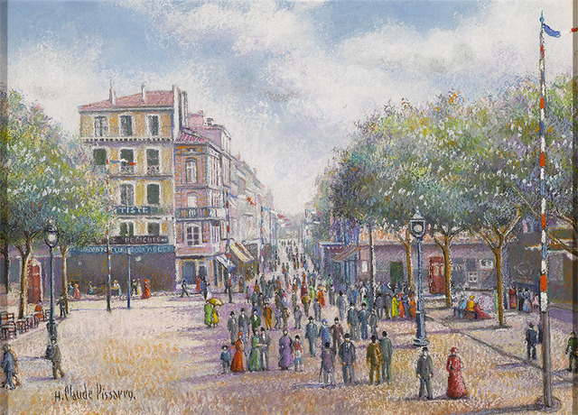 Hugues Claude Pissarro, '1er Mai a Dogein-de-Provence (First of May in Dogein-de-Provence)', 1919,  M.S. Rau Antiques