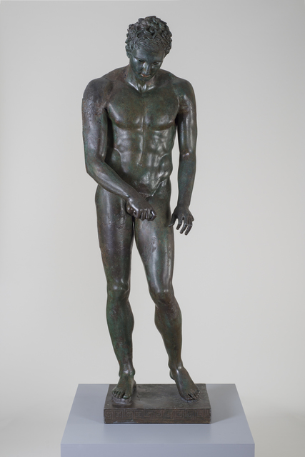 ", 'Athlete ""The Croatian Apoxyomenos"",' 100-1 B.C., J. Paul Getty Museum"