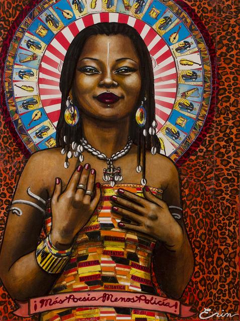 , 'Mali Musician, Fatoumata Diawara,' 2017, Blue Rain Gallery