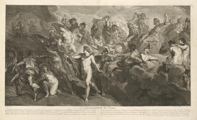 Peter Paul Rubens, 'Le gouvernement de la reine', 1710, Getty Research Institute