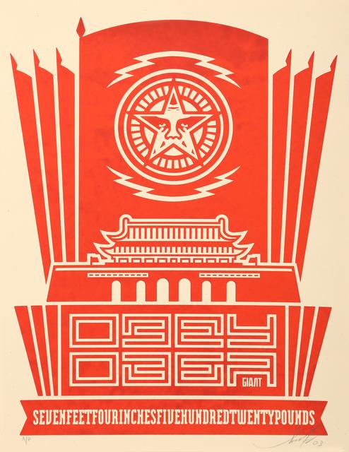 Shepard Fairey (OBEY), 'Chinesebanner', 2003, Fine Art Auctions Miami