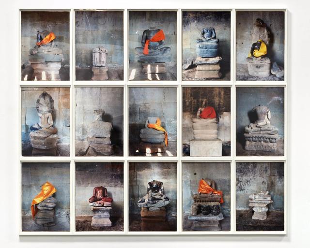 , 'The Headless Buddhas of Angkor,' 2012, P.P.O.W