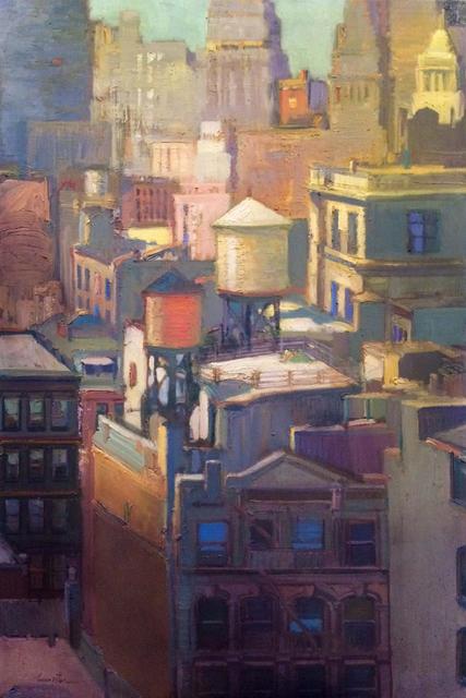 , 'The Pastel City,' 2018, Sue Greenwood Fine Art