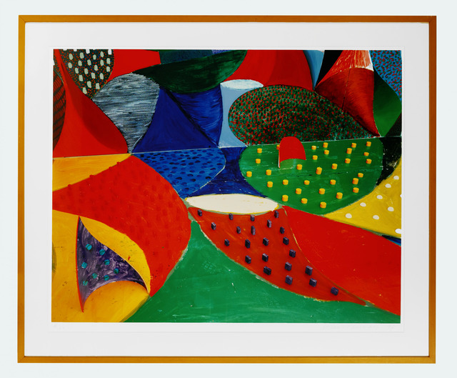David Hockney, 'Fifth Detail, Snails Space March 27 1995', 1995, Fairhead Fine Art Limited