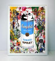Mr. Brainwash, Tomato Spray (blue)
