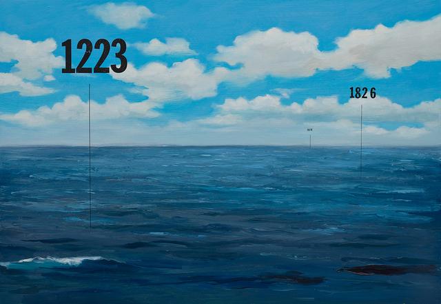 , 'Fathom Seascape no. 7,' 2015, Lazinc