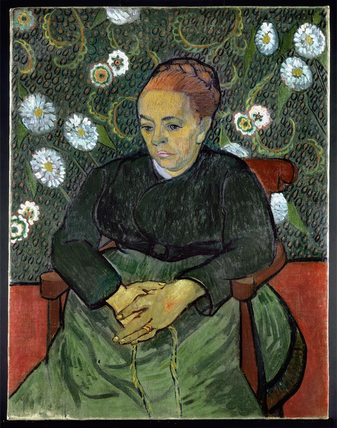 Donation: Vincent van Gogh, La berceuse (1889)