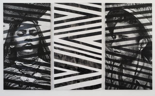 , 'Memory (Triptyque),' 2016, Galerie Nathalie Obadia