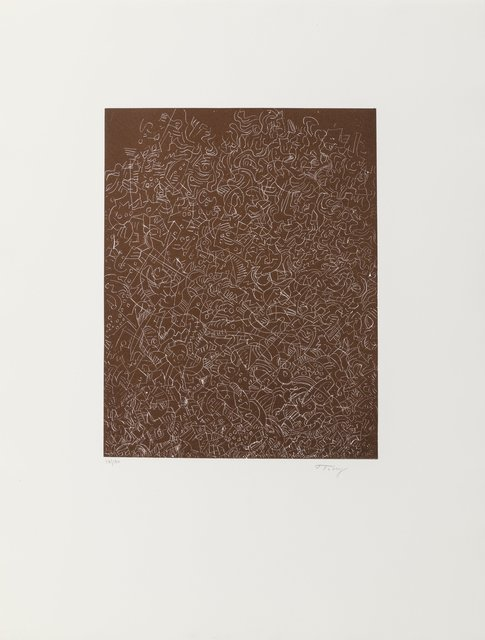Mark Tobey, 'Psaltery, 1st Form', 1974, Heritage Auctions