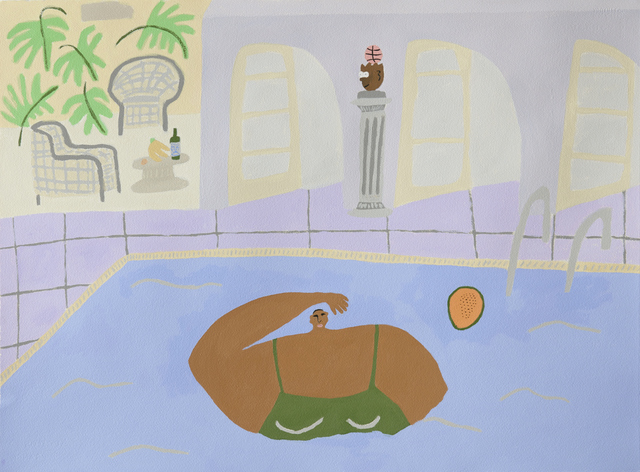 , 'The Pool,' 2018, Ochi Projects