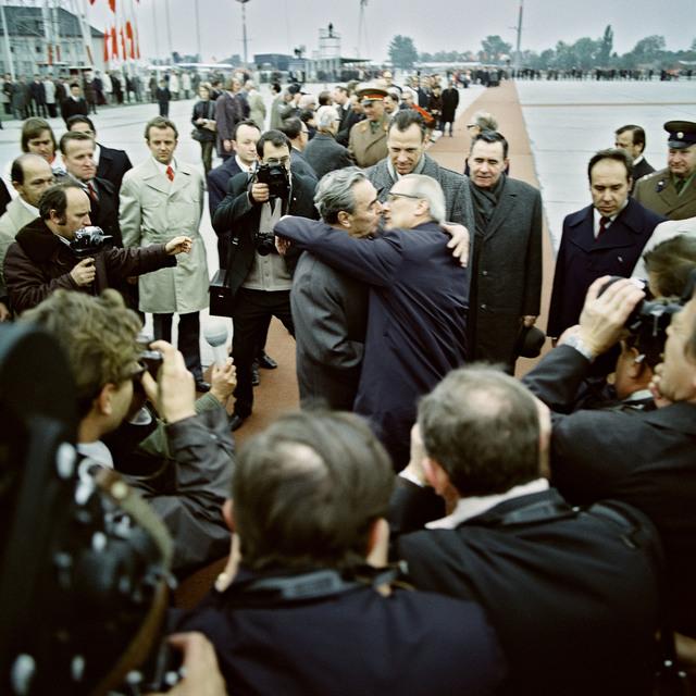 , 'Besuch von Leonid Breschnew in Berlin,' 1974, CAMERA WORK
