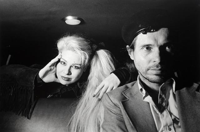 , 'Self-Portrait with Dianne Brill,' 1986, Bruce Silverstein Gallery