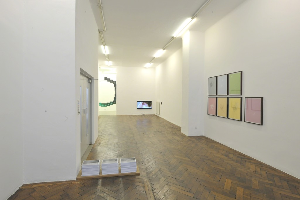 Installation view (Toril Johannessen, Danilo Correale, James Garner)