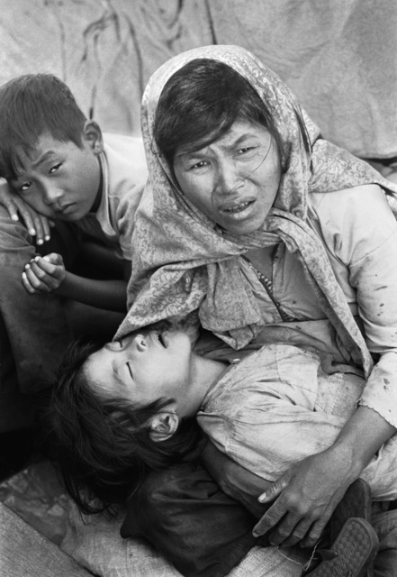 , 'Boat of No Smiles, South Vietnamese refugees, Gulf of Siam, Thanksgiving Day, 1977,' 1977, Monroe Gallery of Photography