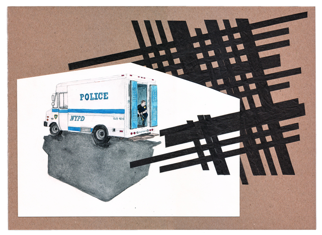 , 'POLICE VAN, TRANS DAY OF ACTION ,' 2012, Fort Worth Contemporary Arts