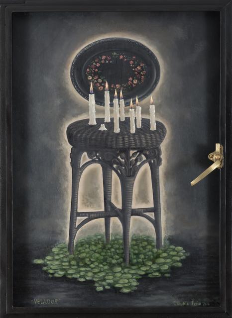 CLAUDIA PEÑA, 'Velador', 2016, Isabel Croxatto Galería