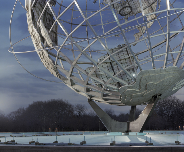 ", 'New York 1964 World's Fair, ""Peace Through Understanding,"" Unisphere,' 2009, Front Room Gallery"