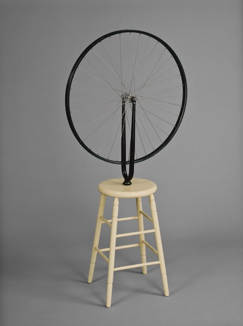 , 'Bicycle Wheel, 6th version,' 1964, Vancouver Art Gallery