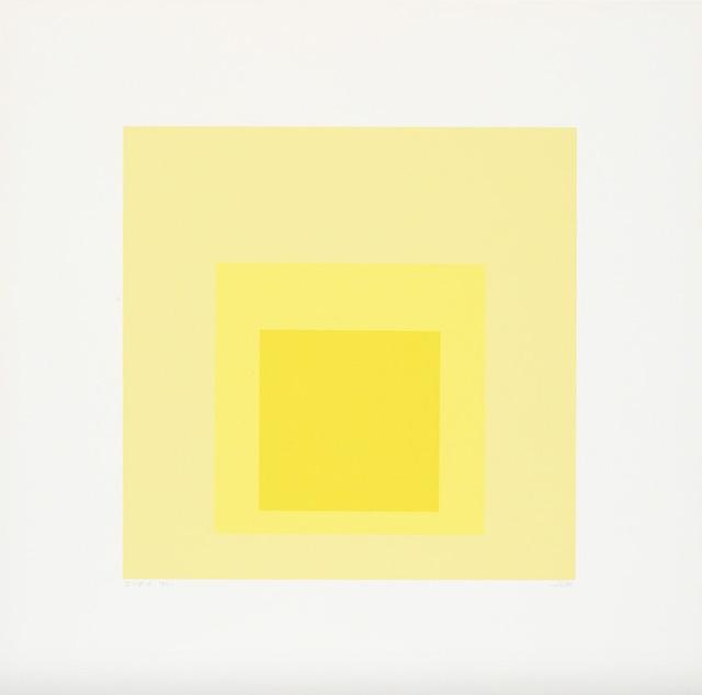 Josef Albers, 'I-S d', 1969, Upsilon Gallery