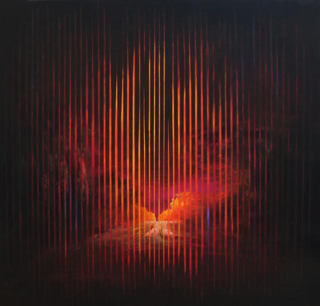 , 'El alquimista piensa en las leyes secretas,' 2014, Galería Rubbers Internacional