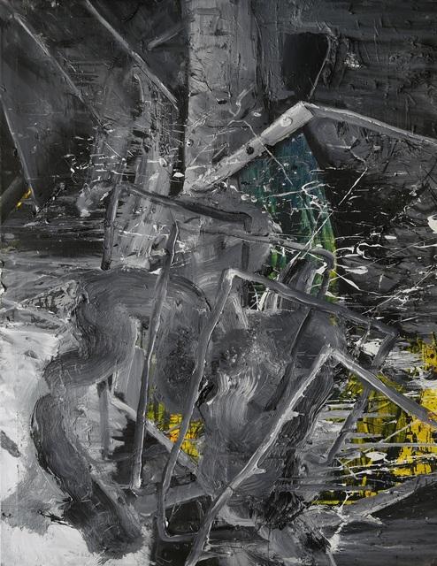 , '#1518002 (Hurdle Race),' 2015, Galerie Kornfeld