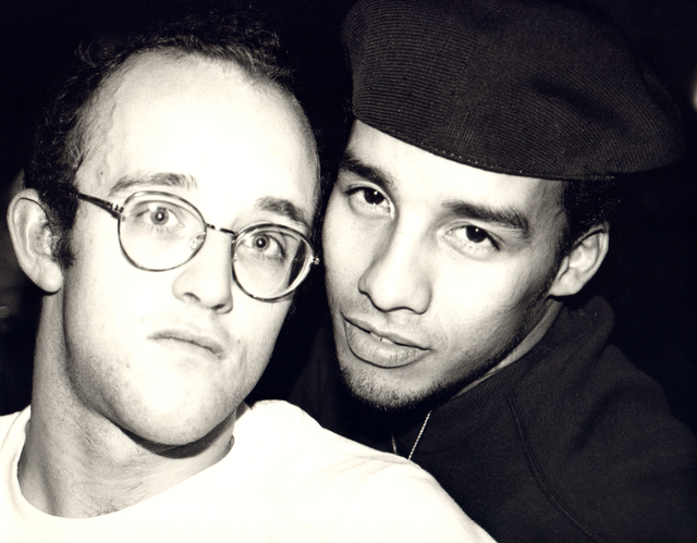 Andy Warhol, 'Andy Warhol, Photograph of Keith Haring and Juan Rivera, 1986', 1986, Hedges Projects