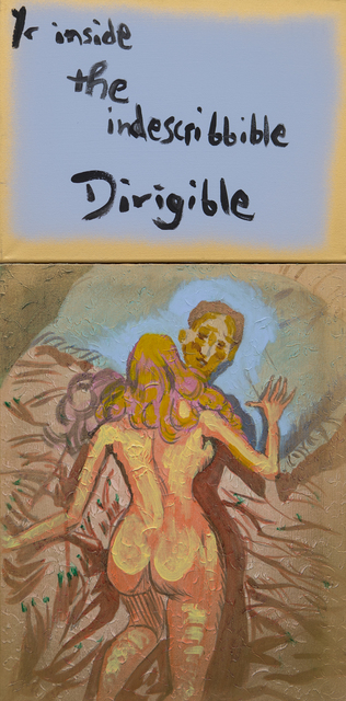 , 'Yr inside the indescribbible Dirigible,' 2017, Freight + Volume