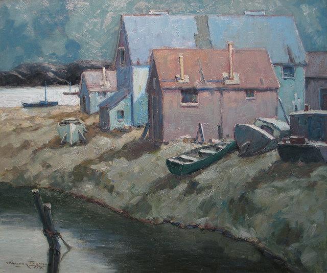 Walter Farndon, 'Moonlight on Shore', 19th -20th Century, Vose Galleries