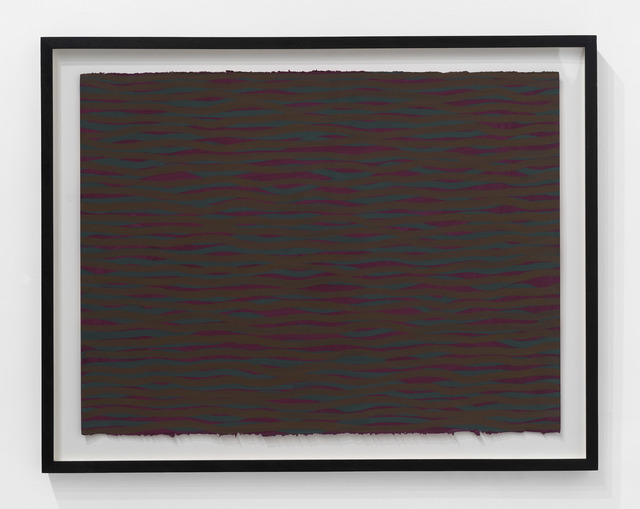, 'Horizontal Brushstrokes (More or Less),' 2003, The Bonnier Gallery