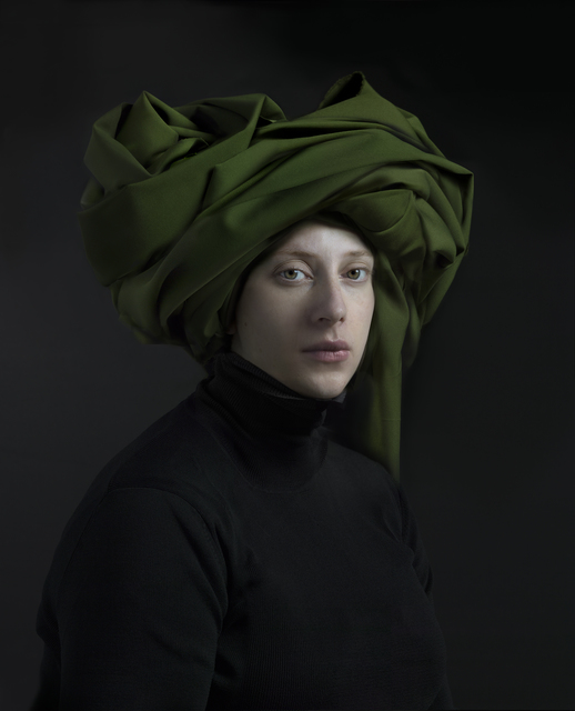 , 'Green Turban,' 2018, Danziger Gallery