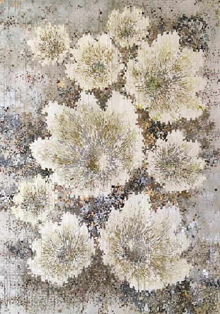 , 'Flowers with Stone and Moss 2,' , Diehl Gallery