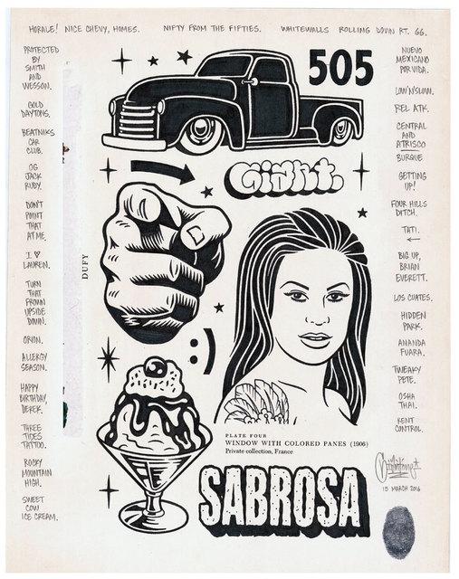 , 'Sabrosa,' 2016, Black Book Gallery