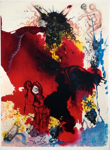 Salvador Dalí, 'Jesus Is Tempted By Satan', 1964-1967, Studio Mariani Gallery