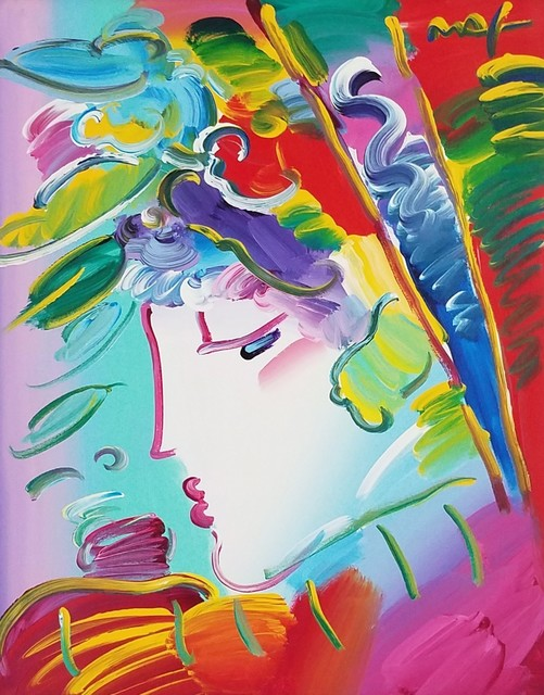 Peter Max, 'Blushing Beauty', 2010, Georgetown Frame Shoppe