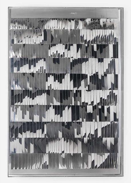 , 'Lamellenrelief,' 1963, Perrotin