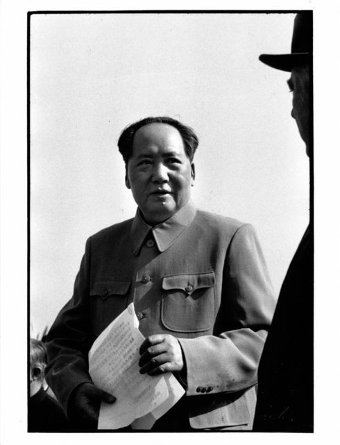 , 'Chairman Mao and Russian President Voroshilov at the airport, Beijing,' 1959, Koru Contemporary Art
